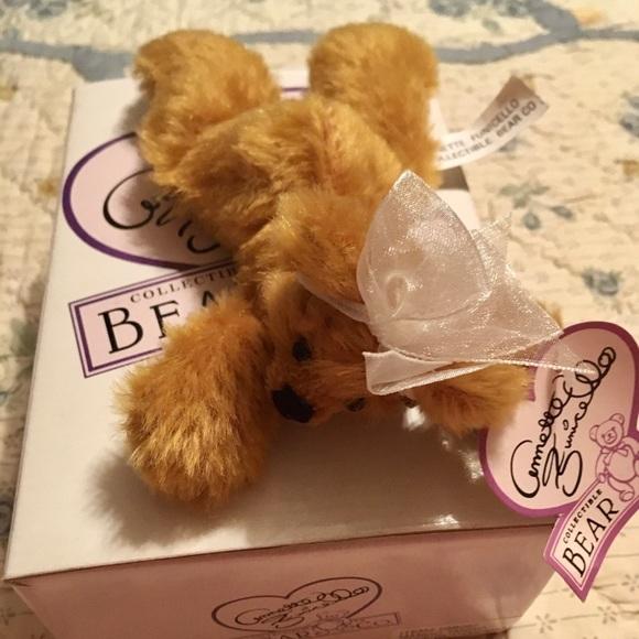 ANNETTE FUNICELLO COLLECTIBLE BEAR...NIB...MANGO